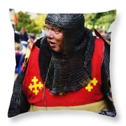 Sir Warwick Throw Pillow