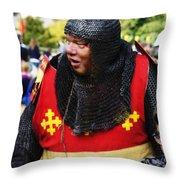 Sir Warwick Throw Pillow
