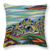 Sirene De Venus Throw Pillow by Robert  SORENSEN