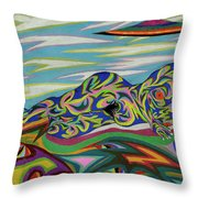 Sirene De Venus Throw Pillow