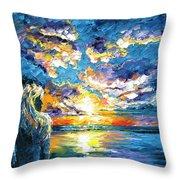 Siren's Dream Throw Pillow