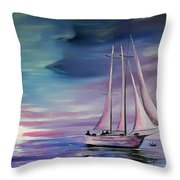 Sirens Song Throw Pillow