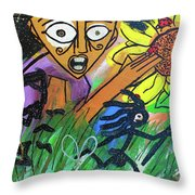 Sirius Daze Throw Pillow