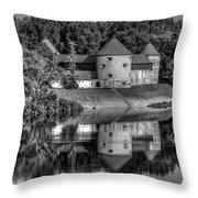 Sisak Fortress, Croatia Throw Pillow