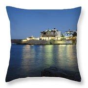 Sissi, Crete Throw Pillow