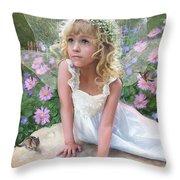 Sissy Fairy Throw Pillow