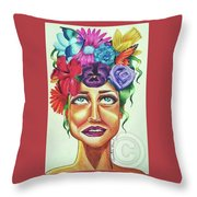 Sista Nature  Throw Pillow