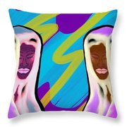 Sistaren  Throw Pillow