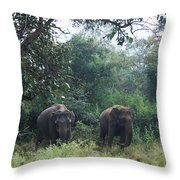 Sisters In Paradise Part 1 Throw Pillow