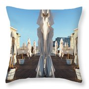 Sisters, Let Us Pray Throw Pillow