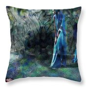 Sisters Of Fate Throw Pillow