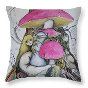 Sisters Of Wyrd Throw Pillow