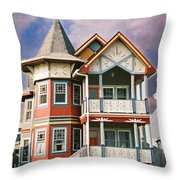 Sisters Panel Two Of Triptych Throw Pillow