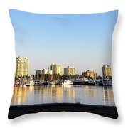 Sit And Look Throw Pillow