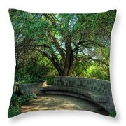 Sit Back And Listen Throw Pillow