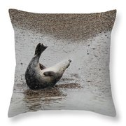 Sit Ups Throw Pillow