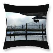 Sittin On The Dock Of The Bay 2300 Throw Pillow