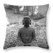 Flowing Mind Throw Pillow