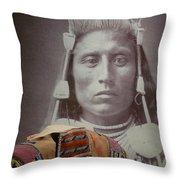 Native American Indian Throw Pillow