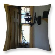 Sitting Room Doorway Throw Pillow