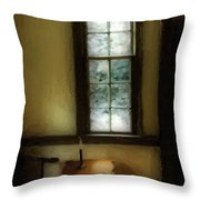 Sitting Room Spring Rain Throw Pillow