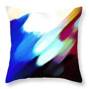 Sivilia 12 Abstract Throw Pillow