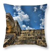 Six And A Half Steps From The Top Throw Pillow