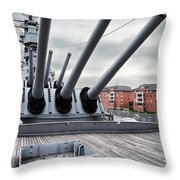 Six Pack Of Sixteens Throw Pillow