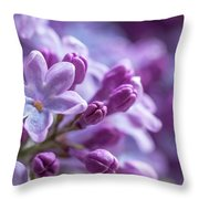 Six Petals Double Happiness Throw Pillow