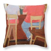 Six Rippers Throw Pillow