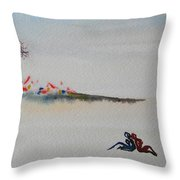 Six Seasons Dance One Throw Pillow