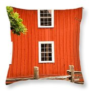 Six Windows Throw Pillow