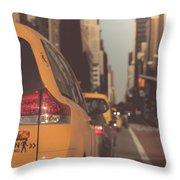 Sixth Avenue Throw Pillow