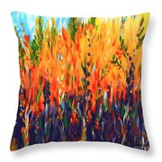 Sizzlescape Throw Pillow