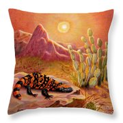 Sizzling Heat Throw Pillow