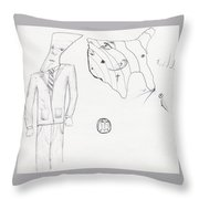 Sjb-33 Throw Pillow