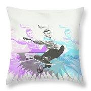 Sk8 Jd Throw Pillow