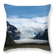 Skaftafell  Throw Pillow
