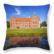 Skarhult Castle Throw Pillow