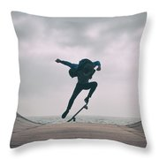 Skater Boy 004 Throw Pillow