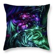 Skaycis Cascade Throw Pillow