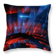 Skc 0271 Color Abstract  Throw Pillow