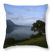 Skc 3959 Overlooking The Lake Throw Pillow