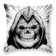Skeletor Throw Pillow