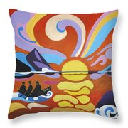 Skellig Throw Pillow