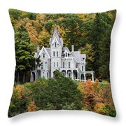 Skene Manor Throw Pillow