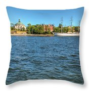 Skeppsholmen Throw Pillow