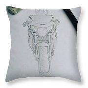 Sket Cbr250r #cbr250r Throw Pillow