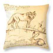 Sketches For Sale Throw Pillow