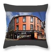 Skibbereen Streetscape Throw Pillow